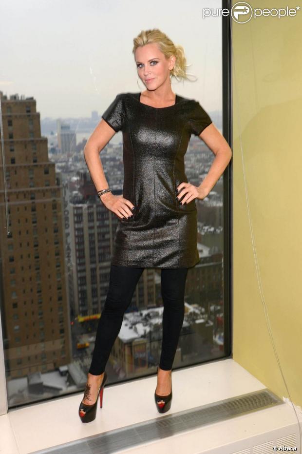 La belle Jenny McCarthy et son nouveau tatouage étaient à New York ...