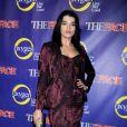 Le mannequin Crystal Renn assiste à la soirée de l'émission The Face au club Marquee. New York, le 5 février 2013.