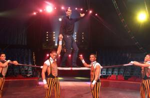 Romain Mesnil et ses perches à la rescousse du cirque Gruss