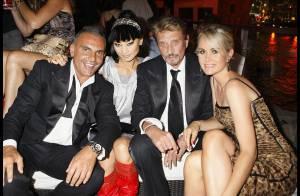 PHOTOS EXCLUSIVES : Johnny Hallyday, Laeticia et...Mike Tyson inaugurent une discothèque à Las Vegas !