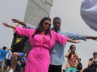 Kim Kardashian, enceinte, et Kanye West : Gestes tendres et fous rires à Rio !