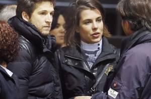 Charlotte Casiraghi, cheveux coupés, retrouve Guillaume Canet à Bordeaux