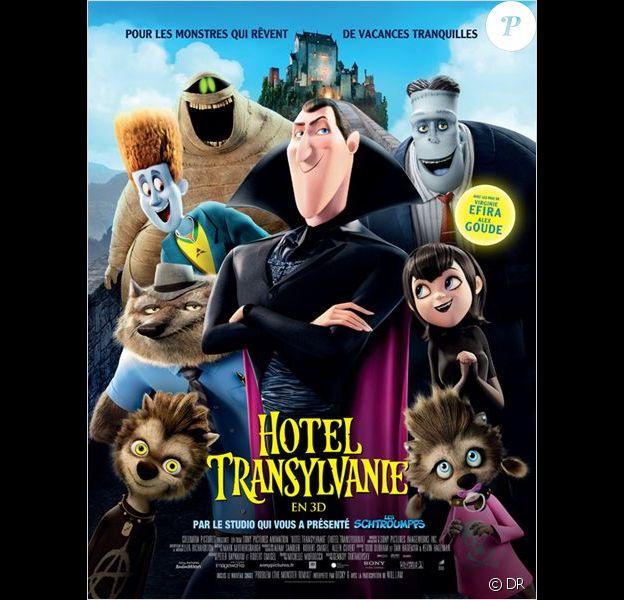 Affiche officielle du film Hôtel Transylvanie.
