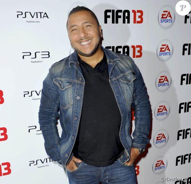 Kamel (ex-Loft Story 2) à Paris le 25 septembre 2012.