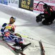 Martin Fourcade pouvait s'écrouler après avoir été sacré champion du monde de biathlon sur le 20 kilomètre à Nove Mesto en Répubique Tchèque le 14 février 2013