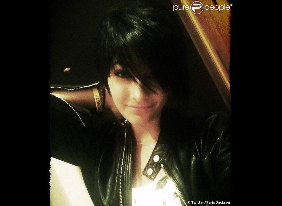 Paris Jackson - sa photo de profil Twitter