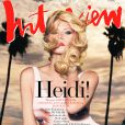 Heidi Klum photographiée par Rankin pour l'édition allemande du magazine Interview. Mars 2013.