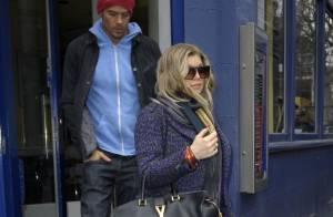 Fergie et Josh Duhamel à Londres : Balade en tête à tête en attendant bébé