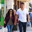 Kim Kardashian et son ex-mari Kris Humphries se promènent à Beverly Hills, le 14 juin 2011.