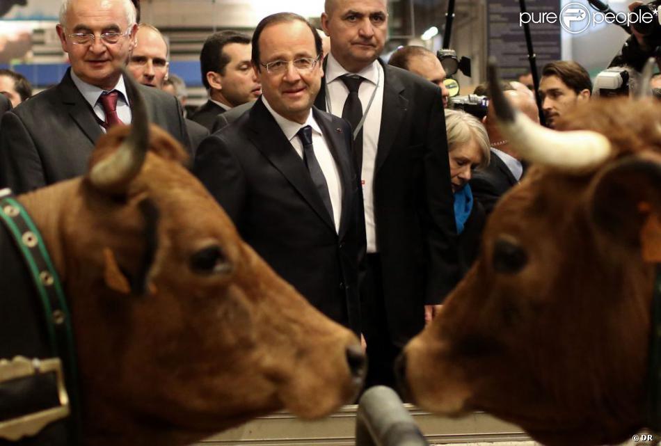 Fran ois hollande au salon de l 39 agriculture il efface for Hollande salon agriculture