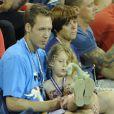Ryan et Jada lors d'un match de Kim Clijsters au USTA Billie Jean King National Tennis Center lors de l'US Open de New York City le 1er septembre 2012