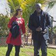 Seal va déjeuner avec Erin Cahill à Los Angeles le 27 février 2013. Erin  Cahill est une actrice américaine de 33 ans.