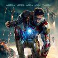 Affiche finale officielle d'Iron Man 3 avec Robert Downey Jr.