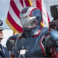 Iron Man en armure patriote.