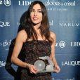 Olivia Ruiz - 8e cérémonie des Globes de Cristal au Lido à Paris le 4 février 2013.