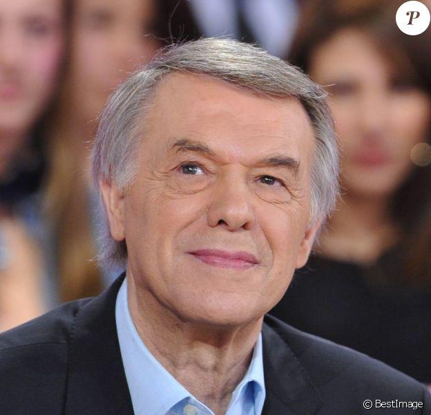 Salvatore Adamo - Enregistrement de l'émission Vivement Dimanche à Paris, le 27 février 2013 et qui sera diffusée le 3 Mars.
