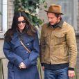 Liv Tyler se promène avec un mystérieux inconnu dans le quartier de West Village à New York, le 26 février 2013.