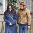 Liv Tyler se promène avec un mystérieux inconnu à New York, le 26 février 2013.