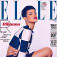 Rihanna prend la pose pour deux couvertures différentes du magazine ELLE UK pour le mois d'avril 2013.