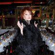 La reine de la nuit, Régine, a célébré son anniversaire avec de nombreux amis dans le cabaret de Michou à Paris, le 12 février 2013.