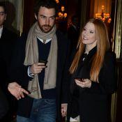 Jessica Chastain : Tendre et amoureuse au bras de son boyfriend à Paris