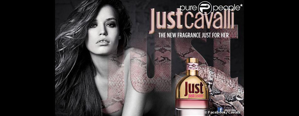 Georgia May Jagger est la nouvelle égérie du parfum Just Cavalli, sorti en mars 2013.