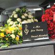 Daniel Darc a été inhumé au cimetière Montmartre à Paris, le 14 mars 2013