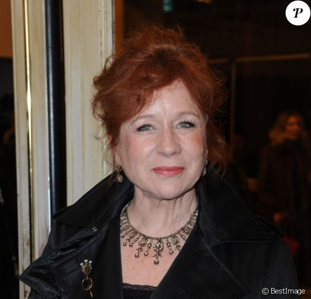 Eva Darlan, le 5 mars 2012 à Paris.