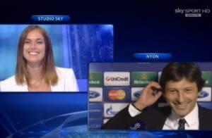 PSG : Leonardo fait sa demande en mariage en direct... Et elle, elle a dit oui !