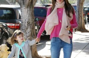 Alessandra Ambrosio : Un rayon de soleil avec sa fille Anja