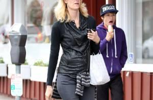 Laura Dern : Radieuse avec son fils stylé, bien loin des soucis du divorce...
