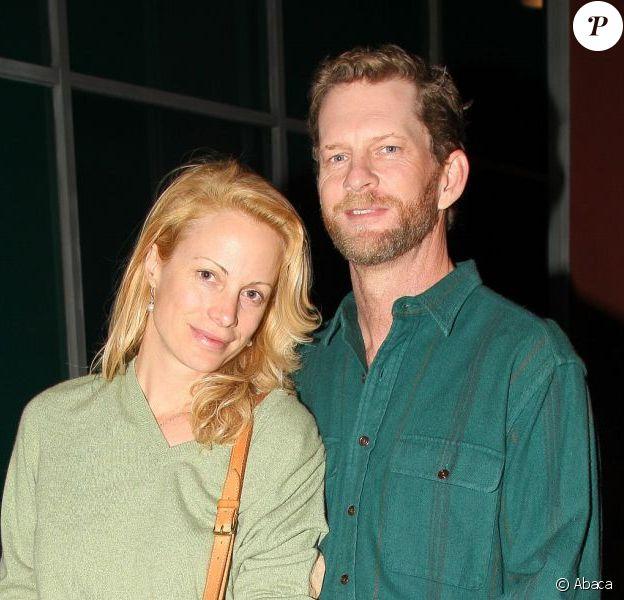 Alison Eastwood et son mari Stacy Poitras à Hollywood le 15 mars 2013