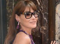 Carla Bruni redevient top : Shooting italien pour la nouvelle égérie Bulgari !