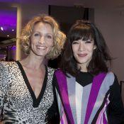 Alexandra Lamy : Radieuse et complice avec Mélanie Doutey et sa soeur Audrey