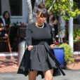 Kim Kardashian faisant un peu de shopping à West Hollywood, chez Fred Segal, le vendredi 22 mars 2013.
