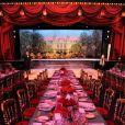 Atmosphère au Bal de la Rose, le 23 mars 2013, au Sporting de Monte-Carlo. En l'honneur du 150e anniversaire de la Société des Bains de mer, Karl Lagerfeld avait été mandaté par son amie la princesse Caroline pour imaginer une soirée exceptionnelle : Belle et Pop, une traversée du temps de la Belle Epoque à l'ère pop.