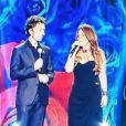 Stéphane Bern et Hélène Ségara chantent pout Toute la télé chante pour le Sidaction