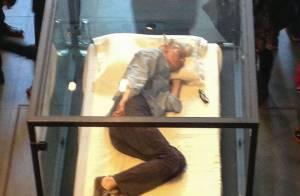 Tilda Swinton, la belle endormie : Son étonnante performance artistique !