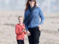 Marcia Cross : Plage et pâtés de sable, son anniversaire avec ses jumelles