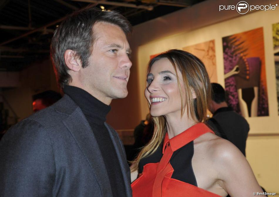 emmanuel philibert de savoie et clotilde courau paris en janvier 2013. Black Bedroom Furniture Sets. Home Design Ideas