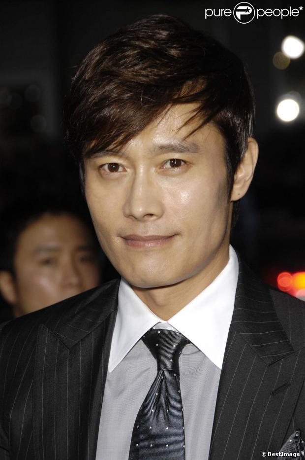 Byung hun lee lors de la première de g i joe conspiration au tcl