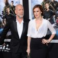 Bruce Willis et Rumer Willis, père et fille, à la première de G.I. Joe : Conspiration au TCL Chinese Theatre de Hollywood, Los Angeles, le 28 mars 2013.