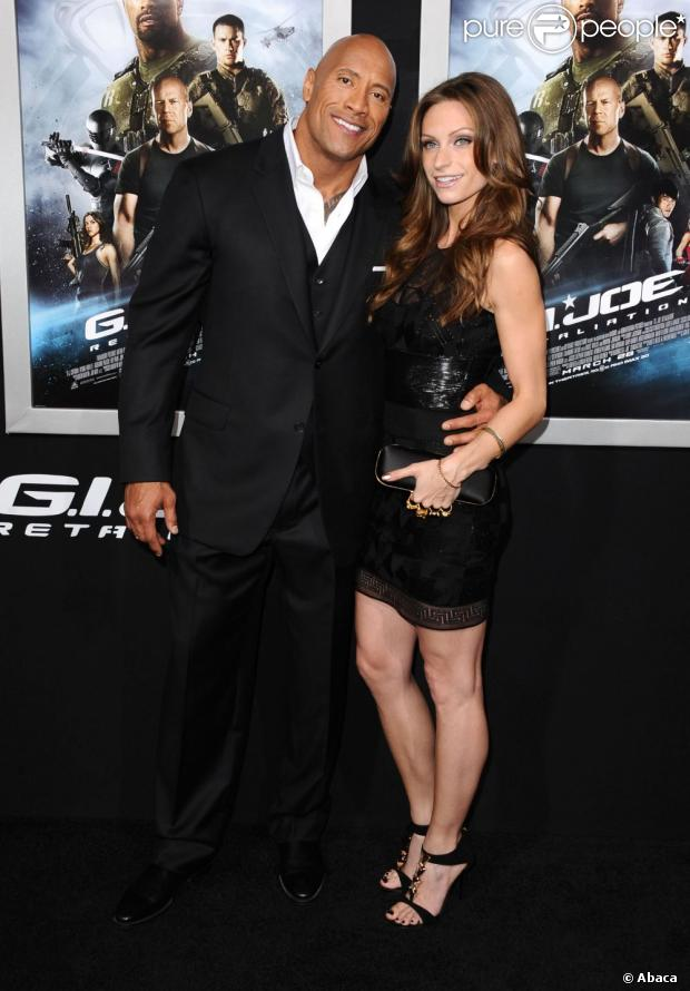 Dwayne Johnson Married Lauren Hashian