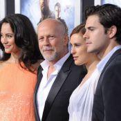 Bruce Willis : Un G.I. Joe amoureux au côté de sa fille Rumer et son boyfriend