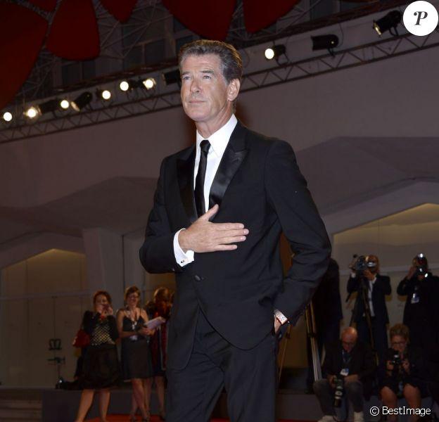 Pierce Brosnan lors de la présentation de Love is all you need au Festival de Venise 2012