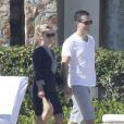 Reese Witherspoon fete ses 37 ans a Mexico avec son mari Jim Toth, le 22 mars 2013. Ils sont en vacances sans les enfants.