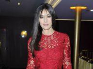 Monica Bellucci : Divine en dentelle rouge passion pour une ode à l'amour