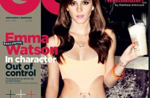Emma Watson sexy se glisse dans la micro-robe Pretty Woman de Julia Roberts