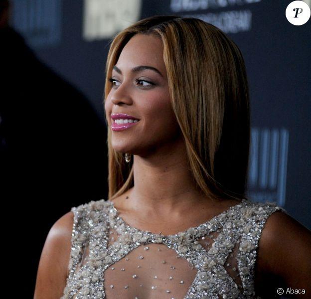 Beyoncé Knowles à New York le 12 février 2013