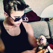 Justin Bieber : Il a quatre semaines pour revoir son singe retenu en Allemagne
